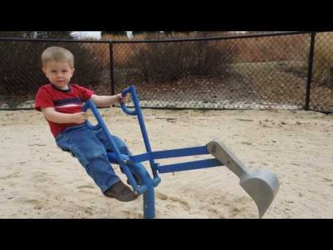 Greg - 2.5 Years Old - Sand Digger