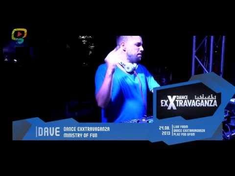 DJ Dave - Dance Exxtravaganza /Pláž pod UFOm 2013 //MIXtape@gluuu.tv