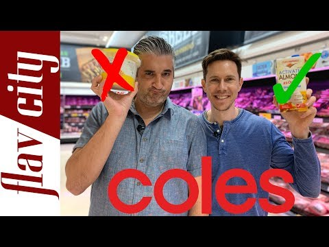 Australian Grocery Haul At Coles - Healthy Items To Buy & Avoid!