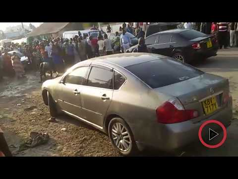 A 'witchdoctor's spell' forces two car thieves to surrender in Mombasa