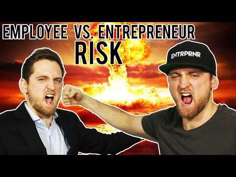 Why Being An Entrepreneur Is LESS Risky Than Being an Employee (SURPRISING)