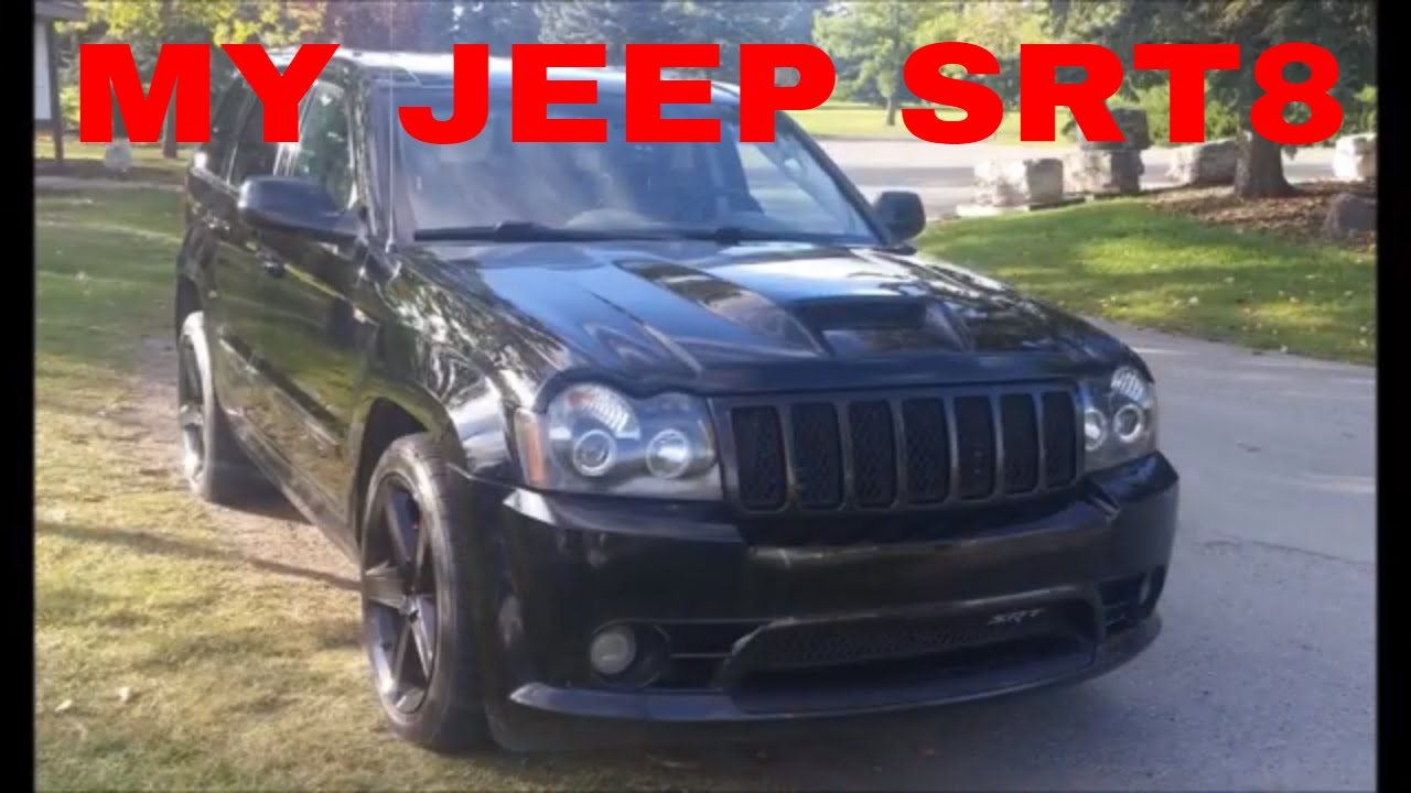 Jeep Grand Cherokee Laredo >> Serhan's Blacked-Out Jeep SRT8 with Ram Air Hood. - YouTube