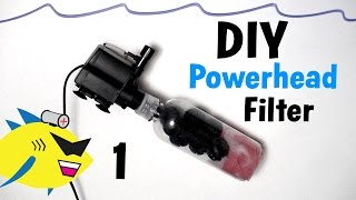 How To Make: Diy Powerhead Filter For Aquarium