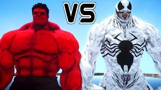 ANTI-VENOM VS RED HULK - EPIC SUPERHEROES BATTLE | DEATH FIGHT