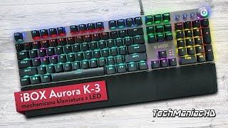 iBOX Aurora K-3 - Mechaniczna Klawiatura LED