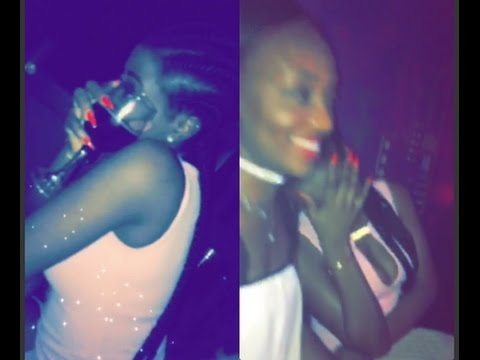 Davido Baby Mama Sophia Refuses To Dance To Davido's Hit Song, When Played At The Club (VIDEO)