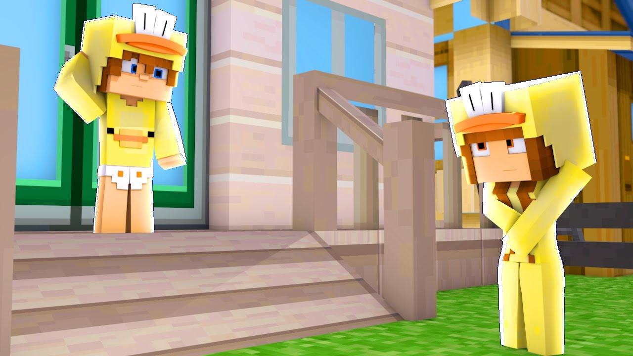 MY EX GIRLFRIEND IS STALKING ME - Minecraft Roleplay - Baby Duck Adventures