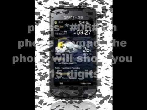 Samsung B7610 Omnia PRO Unlock Code - Free Instructions
