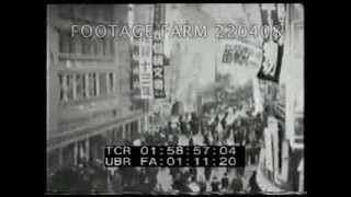 1930s A Day in the life of Tokyo Pt2/2  220408-10 | Footage Farm