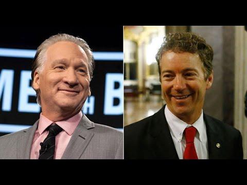 Rand Paul & Bill Maher Talk Climate Change