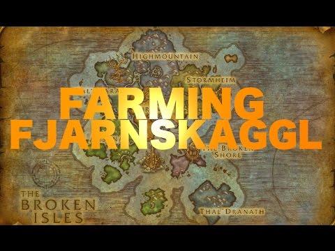 [Herbalism] Fjarnskaggl Farming - Best Route - More Gold