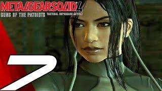 Metal Gear Solid 4 - Gameplay Walkthrough Part 7 - Raging Raven Boss Fight [1080p HD]