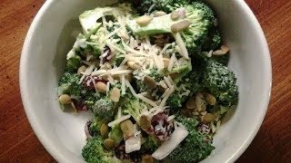 Broccoli Salad With Buttermilk Dressing!