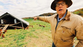 Tour Joel Salatin's Ultimate Mobile Farm Structures