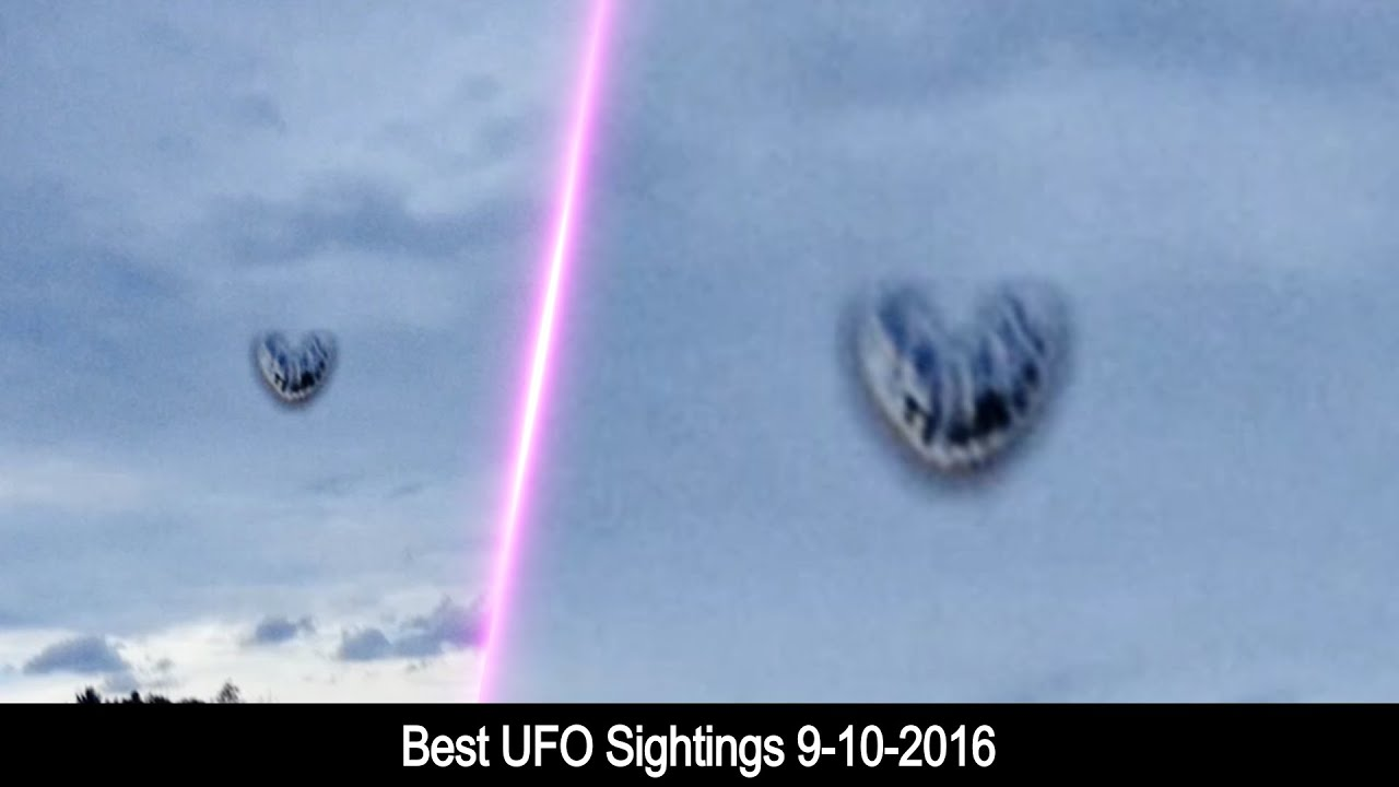 Best UFO Sightings 9-10-2016 - YouTube