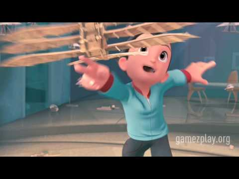 Astro Boy HD official movie trailer video game out soon on  Nintendo Wii PlayStation 2 and PSP