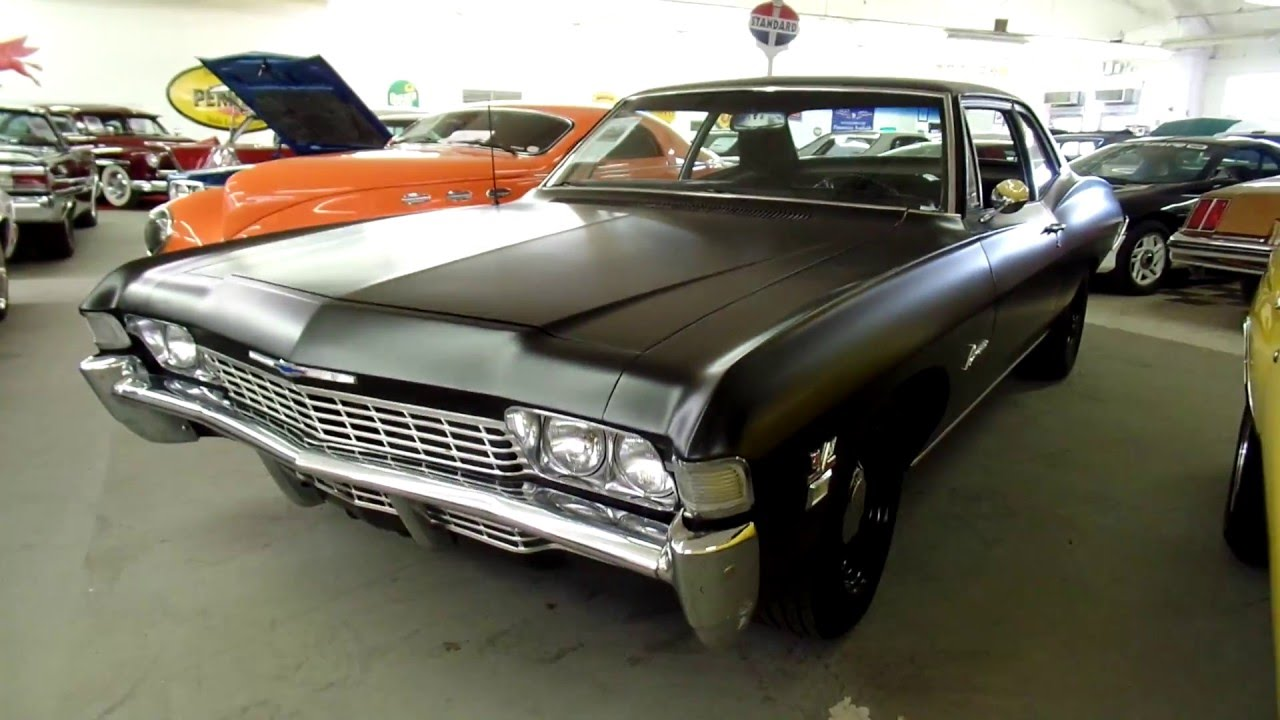 1968 BISCAYNE BIG BLOCK 4 SPEED FOR SALE-NORTH SHORE CLASSICS 847 ...