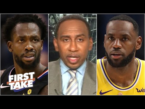Stephen A. reacts to Patrick Beverley's tweet about LeBron & the NBA's restart | First Take