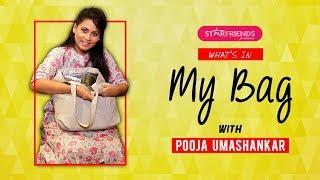 What's In My Bag With Pooja Umashankar - පූජාගේ බෑග් එකේ තිබුන දේවල් - Starfriends