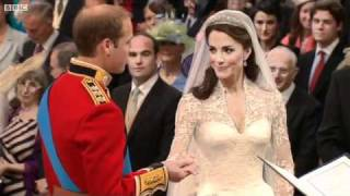 BBC - Highlights of the Royal Wedding of Prince William and Kate Middleton April 29th 2011
