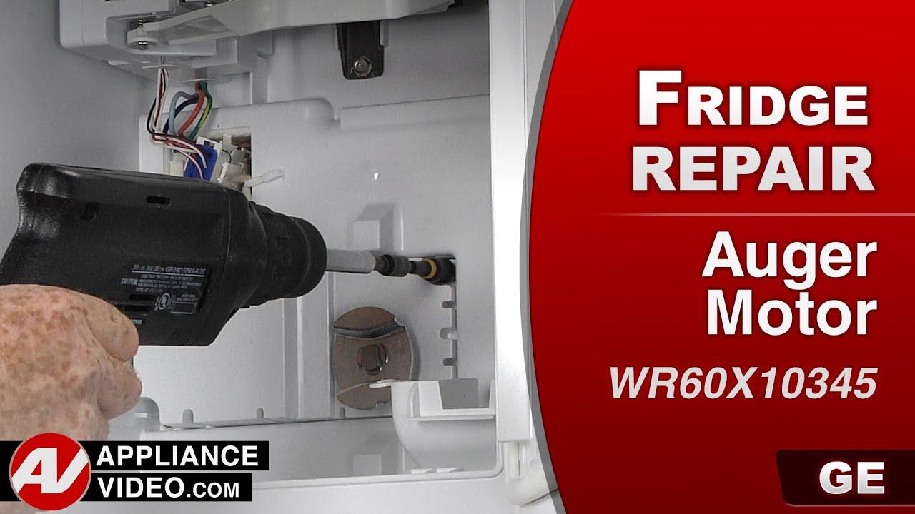 GE - Refrigerator - Auger Motor Repair