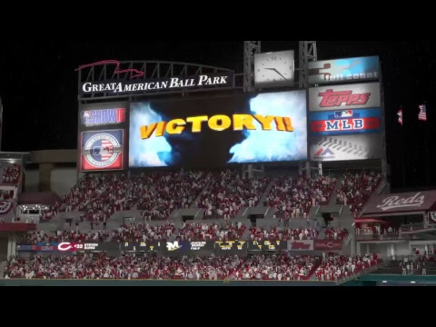 NLCS Gm 3 | Brewers @ Reds | Tied 1-1 | BIG TIME WALKOFF!!!