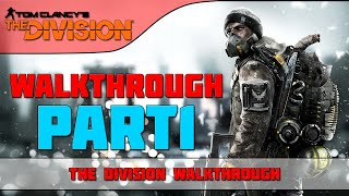 The Division - Walkthrough -  HARD MODE (4K) Part 1 - New York