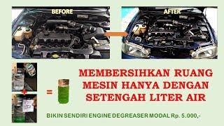 cuci mesin mobil dengan modal HANYA 5000 perak