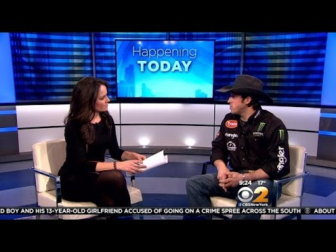 Interview: Professional Bull Rider L.J. Jenkins Talks Competition At MSG