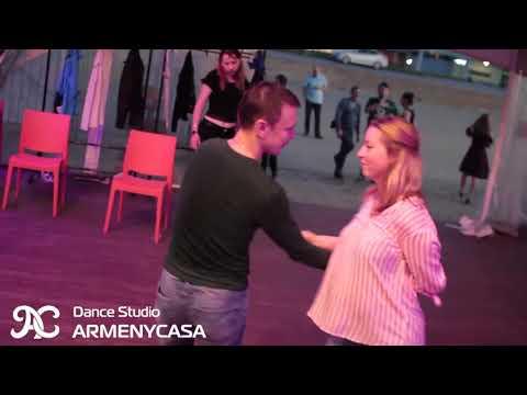 Сальса опен-эйр в ДК Зеленоград. Школа танцев Armeycasa