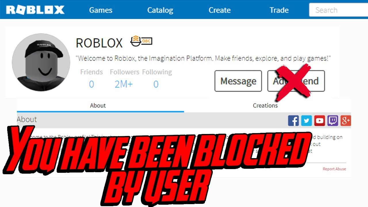 I Was Blocked By Roblox Account Issue Youtube