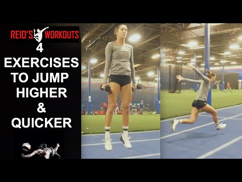 How Can a Volleyball Player Jump Higher And Quicker?