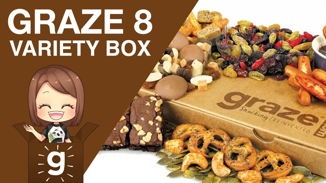 Graze 8 Snack Variety Box Youtube