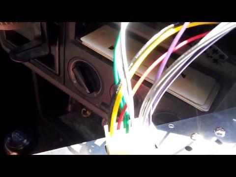 Как просто и быстро подключить магнитолу 1 DIN