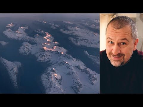 Flying over GREENLAND + a BIG QUESTION about our channel