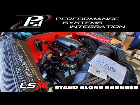 HOW TO WIRE A PSI STAND ALONE LS HARNESS! (70CHEVELLE) LSX