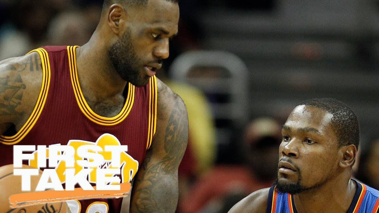 Kevin Durant has been losing to LeBron James his entire career. That might be ...