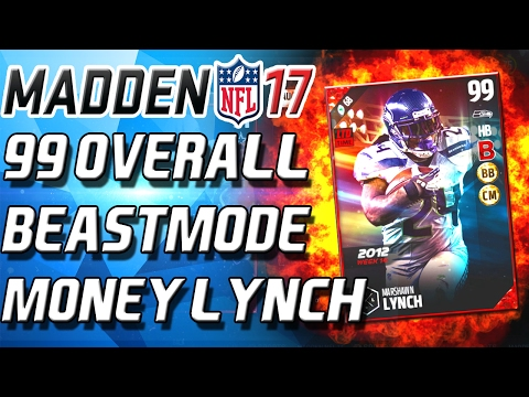 99 OVERALL MARSHAWN LYNCH! NEW ULTIAMTE LEGENDS! - Madden 17 Ultimate Team