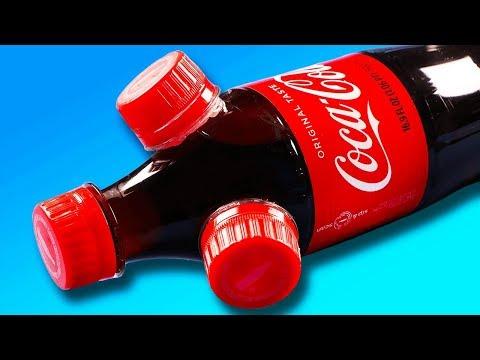 INSANE DIY Coke Bottle Life Hacks