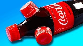 INSANE DIY Coke Bottle Life Hacks