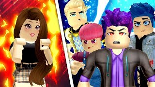 girl vs boys in roblox flee the facility funny moments