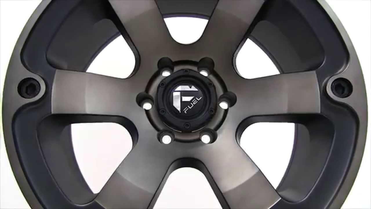 Fuel Wheels 20x9 >> Fuel Beast D564 Black Wheels Rims 20x9 - YouTube