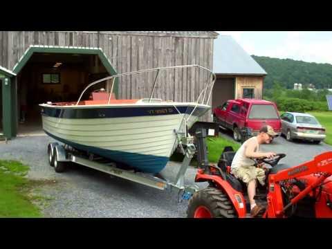 Picnic II 28' Chris Craft Sea Skiff Restored! 7 9 13