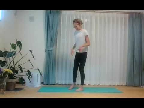 English yoga lesson: Joy