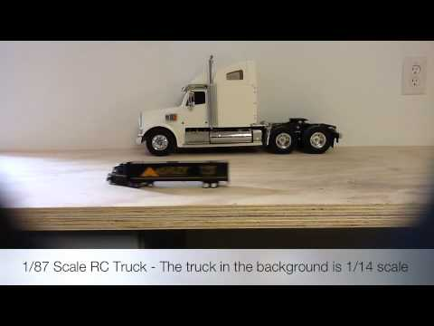 1 87 scale rc truck youtube. Black Bedroom Furniture Sets. Home Design Ideas