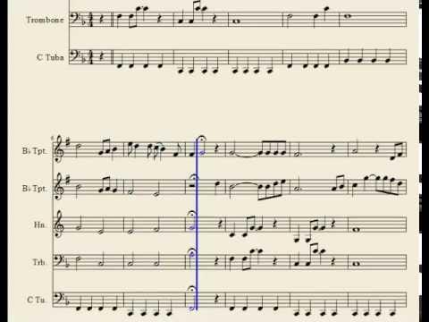 Hey Jude - Brass Quintett - Sheet Music
