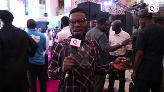 Gambar cover Broda Shaggi sings for QedTV at Power of 1 premiere