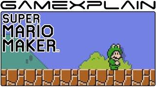 Super Mario Maker - Frog Mario Mystery Mushroom Trailer