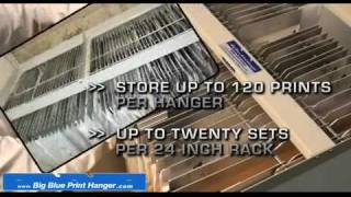The Big Blueprint Hanger - Blueprint Storage Solutions