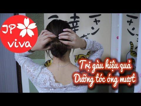[JP viva] Trị gàu siêu hiệu quả và dưỡng tóc óng mượt
